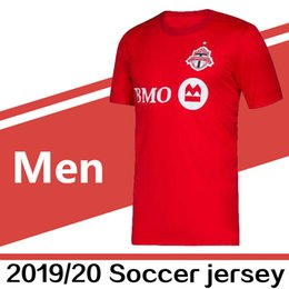 0fb867154 2019 2020 MLS Men s Toronto FC home Soccer Jerseys Football Shirt 19 20  OSORIO ALTIDORE BRADLEY MORROW Soccer jerseys Football Shirts