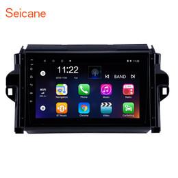 Canada Écran tactile HD 9 pouces Android 8.1 GPS Navi Car autoradio2015-2018 TOYOTA FORTUNER / COVEavec support Bluetooth Télévision numérique 3G Caméra de recul Offre