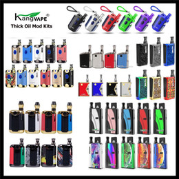 2019 globe en verre stylo vape en gros Authentique Kangvape TH710 TH420 V2 Mini K Box V2 Klasik TH420 V Vape Mod Kit 420 2in1 Batterie TH710 2 II 650mAh pour huile épaisse