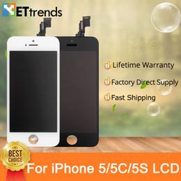 Дисплей для iPhone 5 5S 5c SE Жк-Экран Сборка Фабрики Непосредственно Поставка Нет Мертвых Пикселей Рамка Холодного Пресса DHL Быстрая Доставка от Поставщики экранные прессы