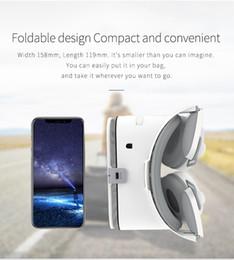Google cartón bluetooth online-Z6 Upgrade 3D Gafas VR Auriculares Google Cartón Bluetooth Realidad virtual Gafas Casco inalámbrico VR para teléfonos inteligentes