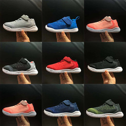 shoes kids 22 Coupons - With Box Unisex Kids 2018 Free RN Running Shoes for Boys Sports Girls Jogging Child Chaussures Children Light Mesh Sneakers Size 22-35