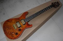 private aktiengitarren Rabatt Freies Verschiffen-hochwertige Privater Stock Johnny Custom Shop 24 Frets Natur Farbe Braun E-Gitarre