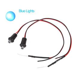 Deutschland 1 Paar tragbare blaue oder rote blinkende blinde gefälschte Auto Alarm Dash Mount LED Licht supplier blue flashing dash light Versorgung