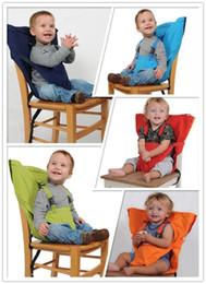 Bebek Çuval Koltuklar Taşınabilir Yüksek Sandalye Omuz Askısı Bebek Güvenliği Emniyet Kemeri Toddler Besleme Koltuk Örtüsü Demeti Yemek Sandalyesi Emniyet Kemeri nereden besleme kayışı tedarikçiler