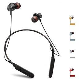 M6 Auriculares Bluetooth Auriculares magnéticos inalámbricos Auriculares Auriculares Auriculares Estéreo Para iphone X Samsung s9 plus Con caja al por menor desde fabricantes