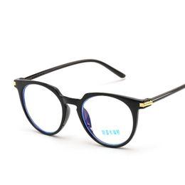 3b8fcc69c31 blue light blocking glasses Frame Women Eye Protection Anti Radiation Eyeglasses  Men anti blue rays no degree flat glasses FML
