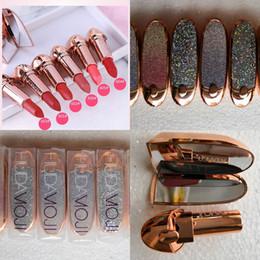 2019 venda por atacado original da composição MOJI Matte Lipstick 6Colors moji Sexy impermeável duradoura Professional Lip Varas de maquiagem venda de produtos Hot Mulheres Moda