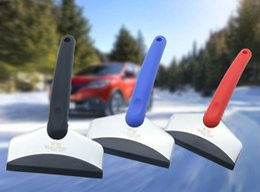 Pás de neve de aço on-line-Pá de neve de inverno com neve de remoção de esponja de EVA fornece 280 * 95 * 25mmCabeça de pá de aço inoxidável de inverno pá de neve de carro de inverno
