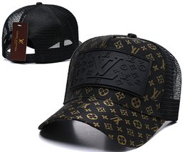 sombreros de camuflaje gris Rebajas Nueva marca para hombre sombreros de diseño Snapback gorras de béisbol ajustables Dama de moda de lujo de verano camionero casquette de las mujeres causal casquillo de la bola