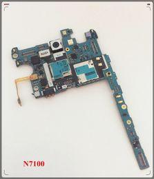 2019 bar anti statico Scheda madre originale sbloccata del PWB per la scheda logica dei chip della scheda madre del Samsung Galaxy Note 2 N7100 Trasporto libero