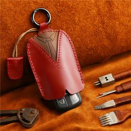 chave para nissan qashqai Desconto Pacote de chave de carro feito à mão primeiro-casaco Kraft caso chave