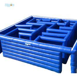 Vente de jeux gonflables en Ligne-Jeu de labyrinthe gonflable, labyrinthe gonflable durable en vente, jeu de sport labyrinthe gonflable