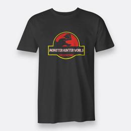 7b9764b0d3 Monster Hunter World Park Black Men's Tees Size S-3XL T-Shirt Custom t shirt  logo text photo Mens Womens T-shirt men tshirt rock Unisex