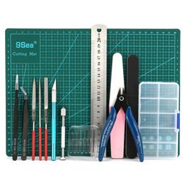 2019 kit de ferramentas de cabo de rede Ferramentas de alta qualidade DIY básicas Craft Set Hobby modelo de construção Kit de moagem para Sets Gundam Ferramenta de Mão