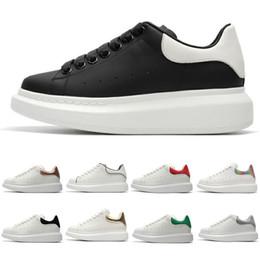 new product 1987f 84f1f 2019 New Designer 3M scarpe casual in pelle nera riflettente bianca per  ragazza donna uomo oro rosa moda rossa comoda sneakers piatte