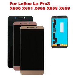 2019 apfel london Original Für LeTV LeEco Pro 3 Ai Edition LCD Display Für Le Pro3 X650 X651 Handy LCD X656 Touchscreen Digitizer Assembly
