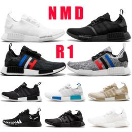 detailing 345b8 3aa1a Nuevas zapatillas de running Nmd R1 para hombre Classic Og para mujer  Calzado deportivo Oreo triple negro blanco Japón NBHD Tri-grey beige  zapatillas de ...