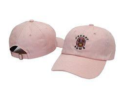 Бомбовые шляпы онлайн-Зеленый / черный / белый / розовый Golf Wang Cherry Bomb Спорт Snapbacks Человек Марка Peaked Hats Женщина Регулируемые шапки