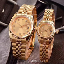 digital unisex luxury watches Promo Codes - 2019 WATCH date just Classic Automatic Movement glide smooth second hand Mechanical 36mm&28mm size Mens&Womens Watch Watches Wristwatch