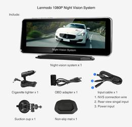 2019 cable usota toyota Sistema de visión nocturna automotriz Lanmodo 1080P de nueva llegada 2019 Fácil de instalar para todo tipo de automóvil