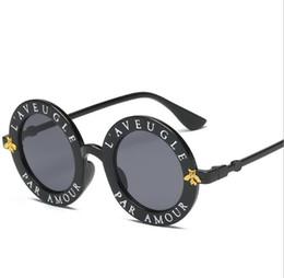 lunita gafas de sol Rebajas 2019 nuevas mujeres de lujo de diseño de alta calidad de las gafas de sol de las mujeres gafas redondas gafas de sol Gafas de Sol Mujer luneta