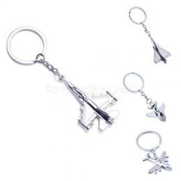 mini-metall-flugzeug Rabatt Kreative Flugzeug Tasche Schlüsselanhänger Ring Auto Mann Keychain Schlüsselanhänger Mini Flugzeug Modell Keyfob Metall Geschenk Schlüsselanhänger AAA1726