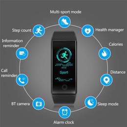 Relógio de pulso de saúde inteligente on-line-Inteligente Pulseira Esporte Inteligente Pulseira de Fitness Rastreador Sono Ip68 Pulse Pulseira de Relógio Ao Ar Livre Smartband Saúde Relogio Cardiaco J190515
