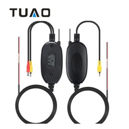 receivers wireless camera kit Coupons - TUAO Rear View Camera 2.4Ghz Wireless Car RCA Video Transmitter Receiver Kit for Car DVD Player Monitor Video Transmitter