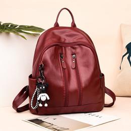81015fb4e672 fashion trendy backpacks Canada - Leisure Travel Backpack Student Shoulder  Bag Female New Korean Edition Trendy