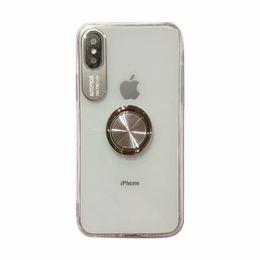 Cubierta de la caja de TPU con la caja del teléfono del sostenedor del anillo Buena calidad del diseño de moda para el iPhone 6 7 8 X Xr Xs desde fabricantes