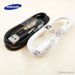 2019 s3 исходный кабель для передачи данных 100 шт. / Лот Оригинальный Micro USB Зарядный Кабель для Samsung S6 S7 Edge S3 S4 Note 4 5 Android Data Sync Зарядный Кабель Зарядного Устройства дешево s3 исходный кабель для передачи данных