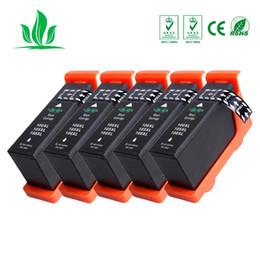 Patronen für lexmark online-5 X LM100 100XL Tintenpatrone, kompatibel für 108XL Lexmark S305 / S405 / S505 / S605 / Pro205 / 705/805/905-Drucker 3
