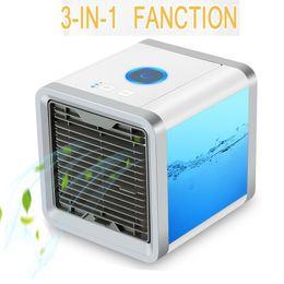 Mini USB Portable Climatiseur Arctic Air Cooler Humidificateur Purificateur 7 Couleurs LED Lumière Bureau Ventilateur De Refroidissement ? partir de fabricateur