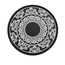 Canada Patron en porcelaine noire et blanche pour un revêtement antidérapant pour téléphone mobile pour automobile Tapis antidérapant pour garniture automobile Offre