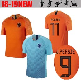 2019 2020 NETHERLANDS soccer jersey home away the netherlands jersey ROBBEN  VIRGIL DOST NEDERLAND 18 19 MEMPHIS Dutch HOLLAND shirts d1232181b