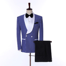 2021 цветочный стиль блейзера  2018  Style Suits Men Floral Pattern Men Suit Slim Fit Groom Tuxedo 3 Piece Custome Prom Blazer Terno Masculino Homm