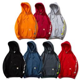 hoodie creed blu assassini bianchi Sconti Nuovo Autunno uomini invernali donne più velluto T-Shirt a maniche lunghe per studenti in esecuzione giacca maglione lettera stampata XC-801 di trasporto