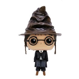 model pop Coupons - Funko POP Movies Harry Potter PVC Action Figures Doll Collection Model Birthday Christmas Gifts Toys Ornaments Toys