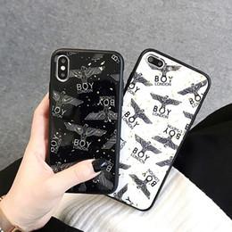 2019 мальчики телефонные чехлы Популярный Бренд Дизайнерские Чехлы Для Телефонов Для iPhone Xs MAX XR 6S 7 8 Plus Case Мальчик Стекло Чехол для Телефона Чехол скидка мальчики телефонные чехлы