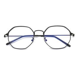 Защита экрана онлайн-Oval Anti Blue Light Goggle Blocking Screen Glasses for Computer Protection Women Men Reading Vintage Classic