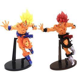 Grande figura de ação goku on-line-18 CM Dragon Ball Z SCultures GRANDE ZOKEI TENKAICHI BUDOKAI # 5 Super Saiyajin Goku Bardock Son PVC Action figure Toy