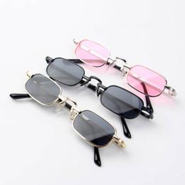Fashio designer coreano per bambini occhiali da sole per bambini Occhiali da sole per bambini Occhiali da sole Boutique Lenti in resina ragazzi occhiali metallo ragazze occhiali A4954 da