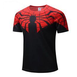 Capitão américa superman batman on-line-New batman spiderman ironman superman capitão américa inverno soldado marvel camiseta vingadores traje super-herói dos desenhos animados