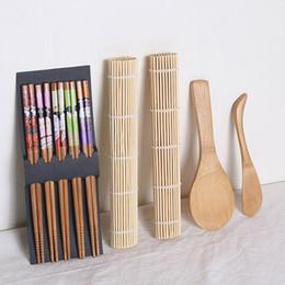 Bacchette di corrugazione del rotolo di sushi durevole leggero durevole leggero domestico dei cucchiai di DIY da bento muffa all'ingrosso fornitori
