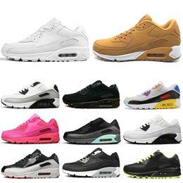 Nike air max 90 Mujeres Zapatos para correr Negro Rojo Blanco Be True Zapatillas de deporte Zapatillas de deporte Hombre Calzado deportivo Tamaño de zapatos al aire libre 36-45 desde fabricantes
