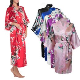 Ladies Sexy Silk Satin Long Robe Night Dress Woman Long Sleeve Nighties V-Neck Nightgown Robes Nightdress Sleepwear For Women от