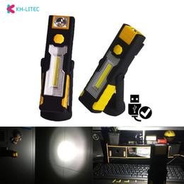 Led Taschenlampe Arbeit Licht Tragbare Scheinwerfer Wiederaufladbare Magnetische Hängenden Haken Lampe Camping Auto Reparatur Bar Licht Taschenlampe Dünne Tragbare Beleuchtung