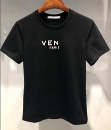 pólo designer homens Desconto 2019 designer de moda de verãoS marca tag roupas homens tecido carta polo t-shirt turn-down collar casual mulheres GIV t shirt tee tops