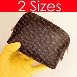 M47515 COSMÁTICO POUCH GM Designer de Moda Feminina Maquiagem Conjunto de Viagem Bolsa de Higiene caso Bolsa de Higiene 26 19 15 cm Mini Pochette Acessórios de